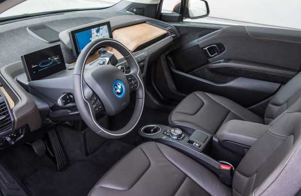 BMW i3 interior. Foto: Gentileza de BMW Chile