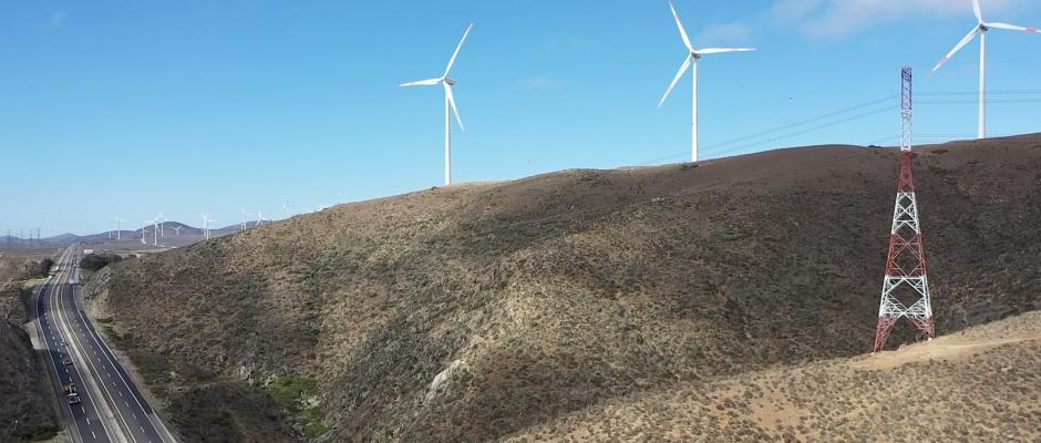 energia eolica transmision