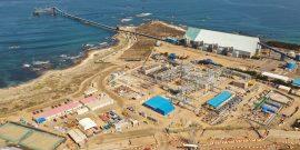 planta desaladora de Antofagasta Minerals en  la región de Coquimbo