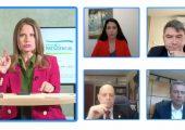 debate de energía presidencial con representantes de las candidaturas presidenciales