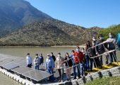 planta flotante fotovoltaica de fraunhofer chile en la región metropolitana