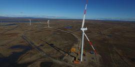 parque eólico Vientos Patagonicos de Enap en Magallanes
